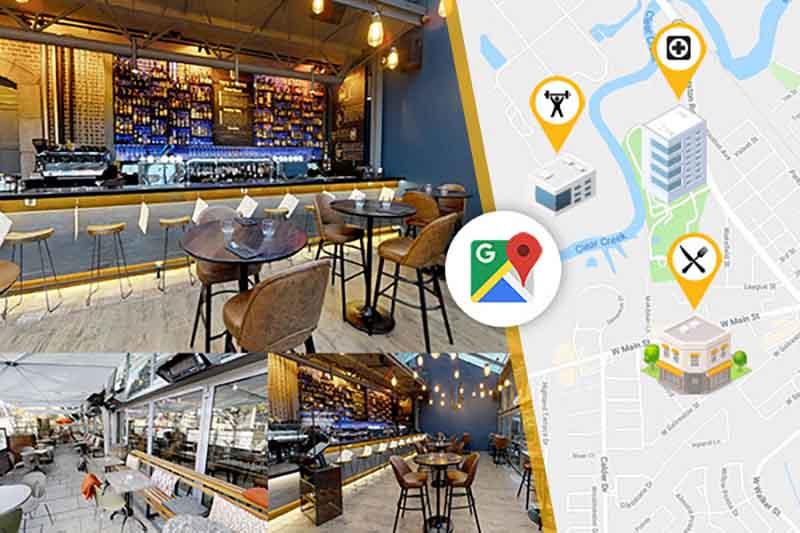 Voorbeelden van 3D scans op Google Maps