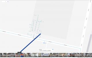 Hoe de opbouw van de 3D scan eruit ziet voor het maken van een 3D winkel