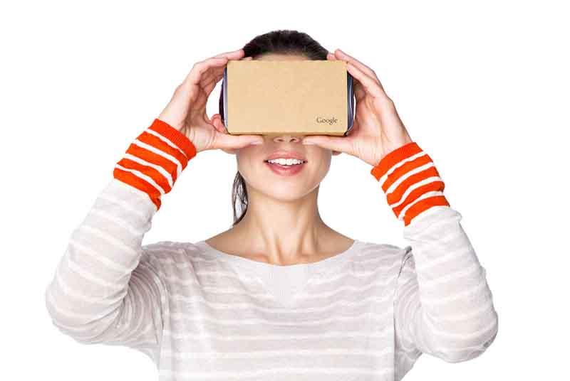 Google Cardboard voor VR
