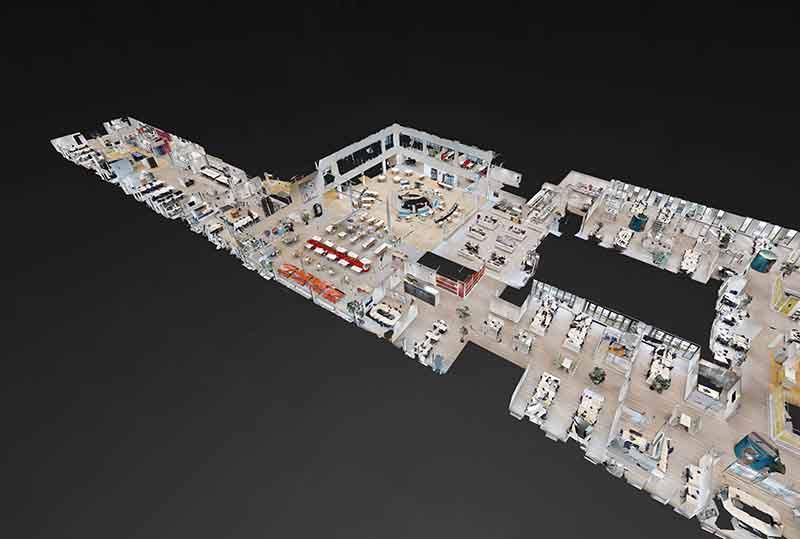Matterport floorplan van Dollhouse van Capgemini in Utrecht