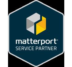 360 graden fotografie, Logo, Matterport service partner