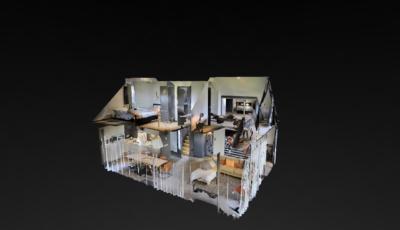 Vakantie woning 3D Model