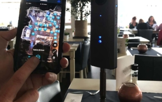 matterport opname maken met ricoh theta V en iphone 7+