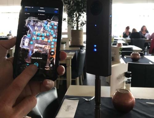 test met Ricoh Theta V en iPhone 7+