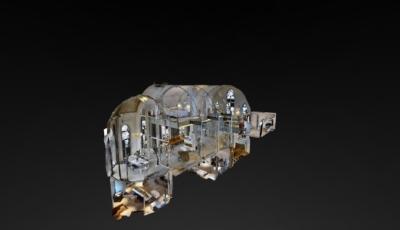 Dit was een KERK 3D Model