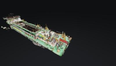 Beveiligd: Boskalis Hopper Dredger Medway 3D Model