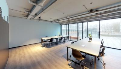 Nido Student Groningen Study Room 3D Model